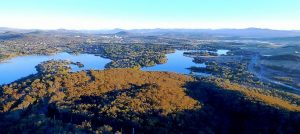 Canberra Building Inspections and Lake Burley Griffin.