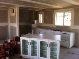 Kitchen Fit-out getting ready for inspection for Canberra building inspections.