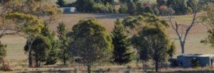 Country scene of Australian farm.