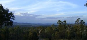View of Canberra and ACT from the hills.
