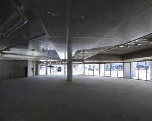 Inside a commercial inspection of a big shop
