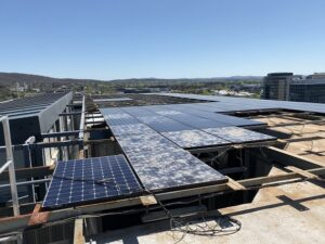 Commercial roof top for commercial building inspections Canberra.