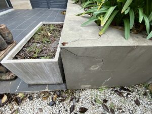 3 26 Dominion Circuit Forrest cracked planter